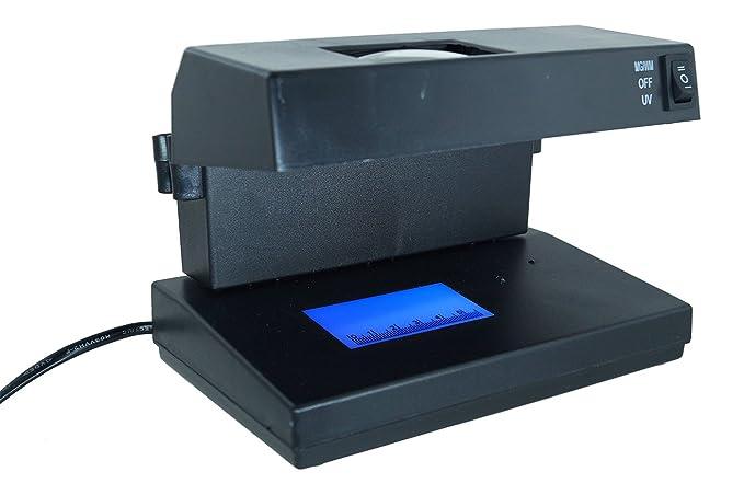 Detector de billetes falsos luz ultravioleta nuevos billetes Euro Money Detector ad 2138