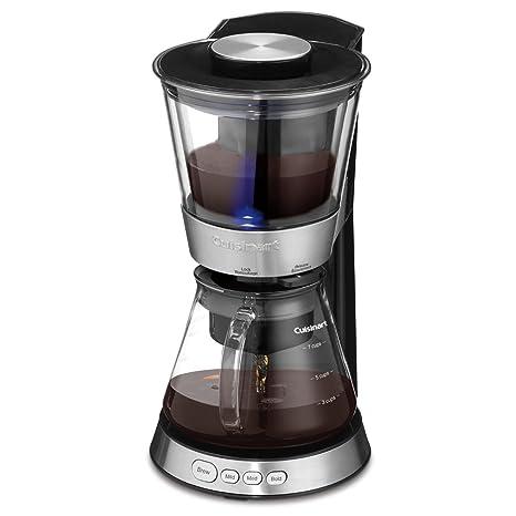 Amazon.com: CUISINART DCB-10C - Cafetera automática de frío ...