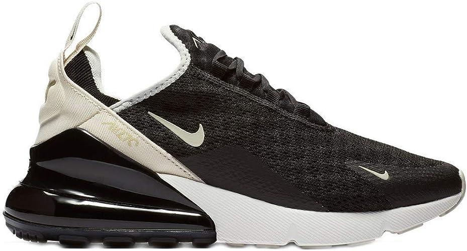 Nike Womens Air Max 270 Running Trainers AH6789 Sneakers Shoes (UK 3.5 US 6 EU 36.5, Black Light Bone 010)
