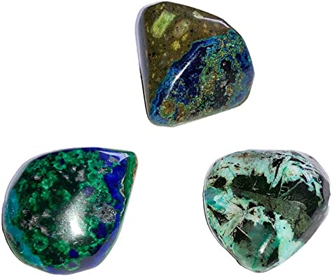 Azurite malachite pierre Plug — PRIX PAR 1