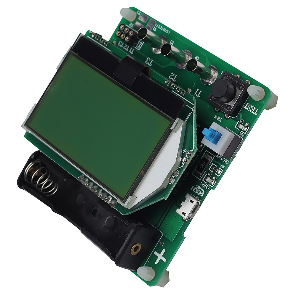MagiDeal Test Equipment Transistor Tester Diode Triode Inductor Capacitance ESR Meter