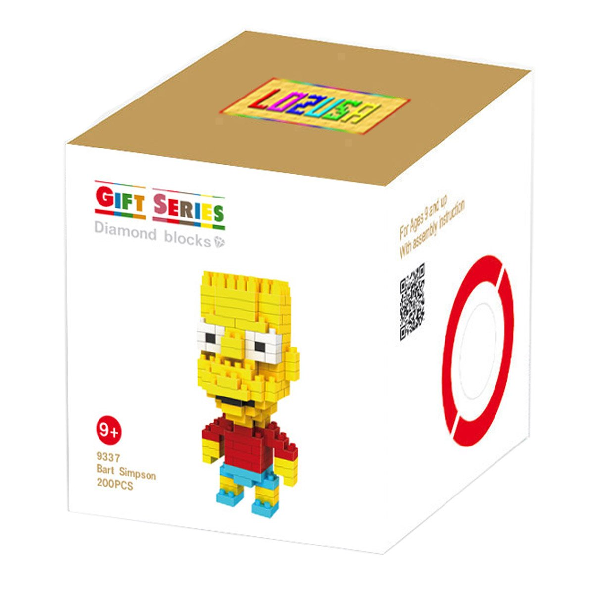大人の上質  lozusa Cartoon lozusa Character 200個ダイヤモンドブロックMini B071DTSXKN Figure Hero Microブロック建設モデル、micro-sized Buildingセット親子ゲーム建物ブロック子供の教育玩具 Hero B071DTSXKN, 北海道 スイートますや:f199ad3c --- a0267596.xsph.ru