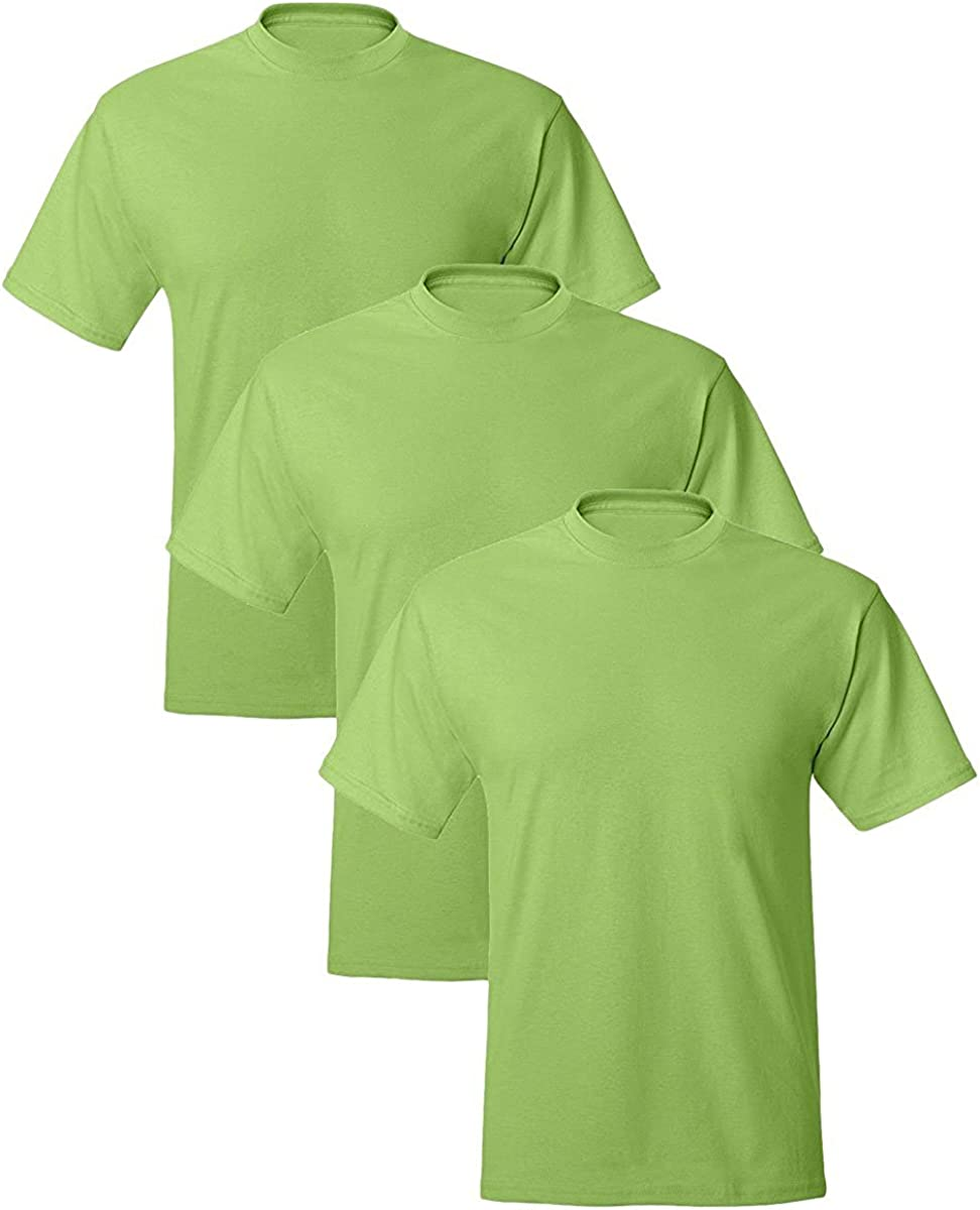 Hanes Men's 3 Pack Comfortblend Short Sleeve T-Shirt