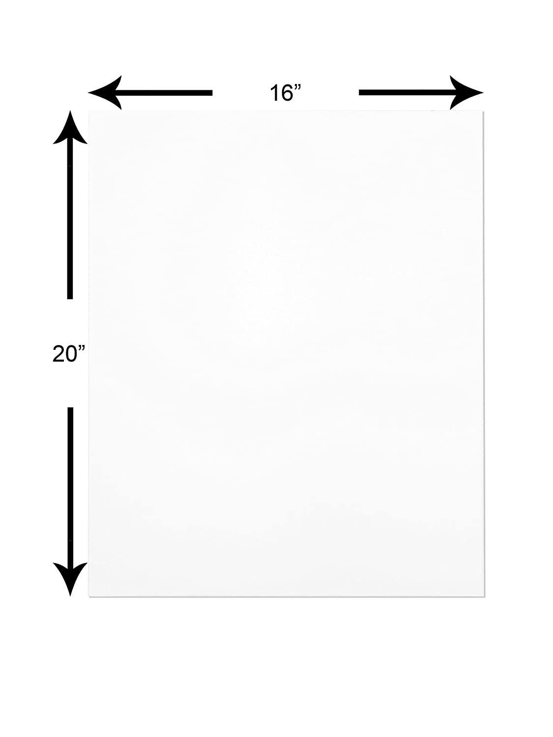 Clear Plastic Bags Complete Set THE DISPLAY GUYS Professional 5x7 Pack of 25 Deluxe White w//Black Core Picture Photo Matting Mat Boards Backing Boards