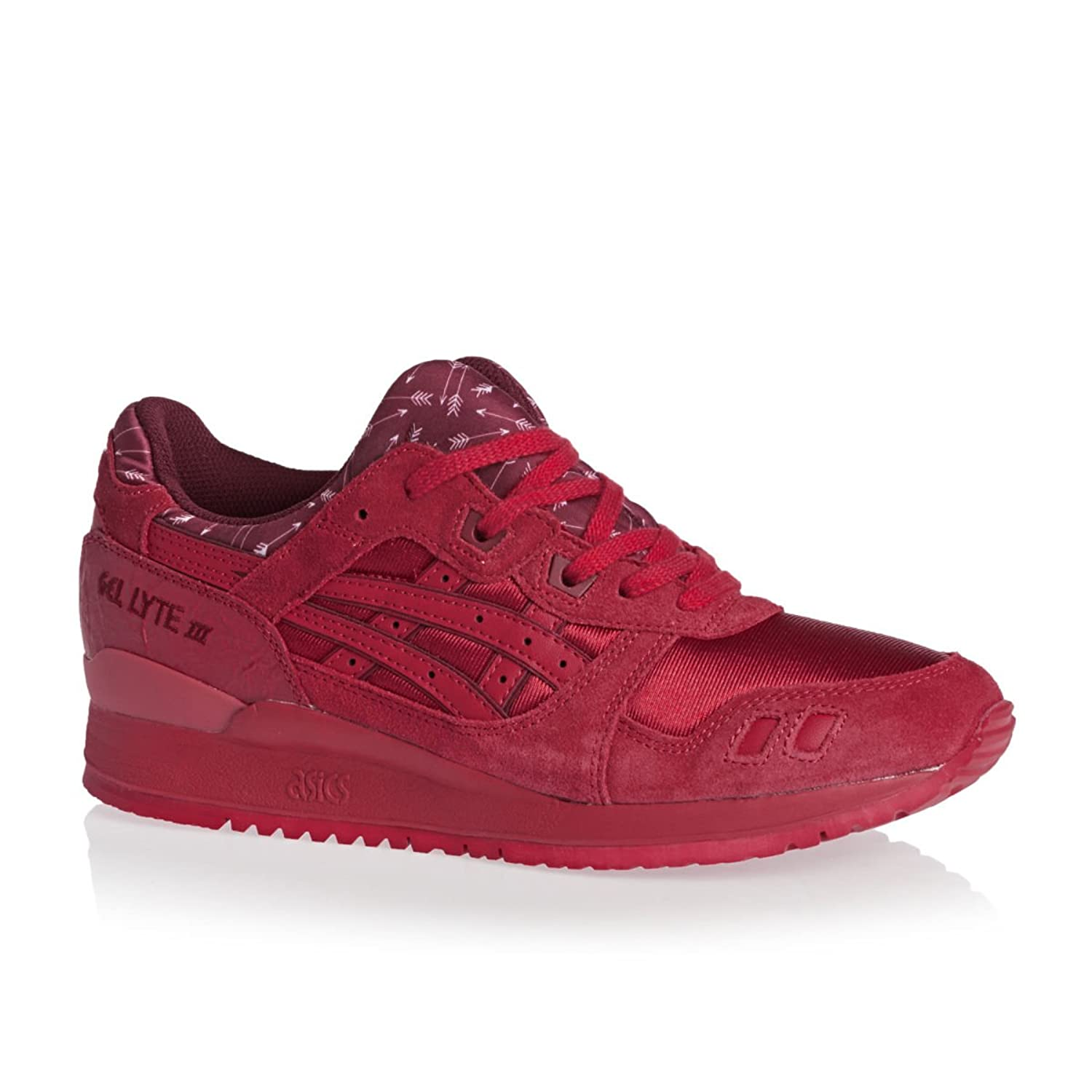 Red Asics Gel Lyte Iii