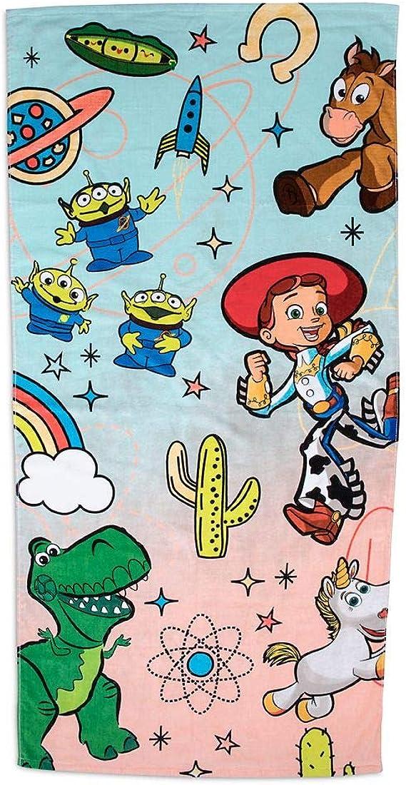 Toy Story Beach Bath Towel Kids Toddler Pool Gift Boy Travel 30x60 Soft New