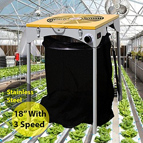 sunGROOM Motor Leaf Trimmer 18'' 110V 3 Speed Industrial Electric Hydroponic Bud Flower by sunGROOM