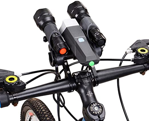 Bicycle Flashlight Holder Handle Bar Bike Accessories Extender Mount Bracket New