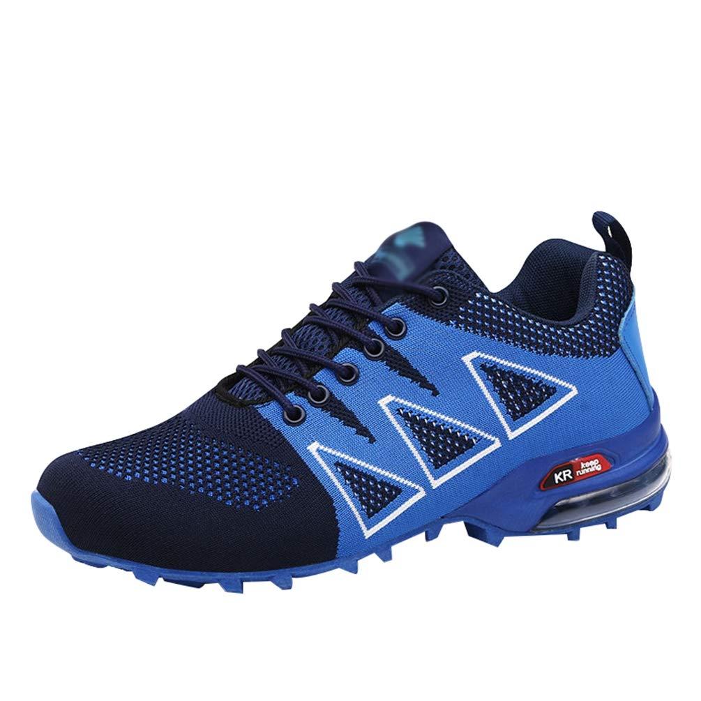 Yuanu Zapatillas De Senderismo Impermeables para Hombre, De Ocio Al Aire Libre Zapatos De Deporte Zapatillas De Senderismo