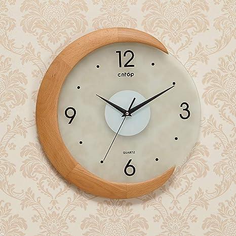 Amazon Com Wall Clock Design Sense Clock Creative Living Room Modern Garden Clock Decorative Art Creative Clock Color B Size 2 Home Kitchen