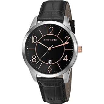 pre order cheap for sale size 7 Pierre Cardin Montre Homme Montre bracelet cuir pc106921 F02 ...