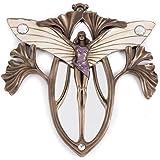 Art Nouveau Butterfly Lady Wall Mirror