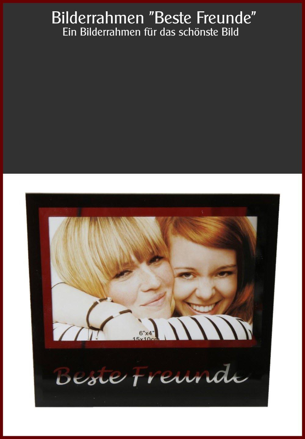 Amazon.de: BESTE FREUNDE Fotorahmen Bilderrahmen 10x15 Bilder Foto ...