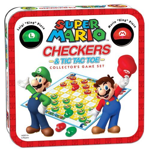 - Super Mario Checkers/Tic Tac Toe Combo