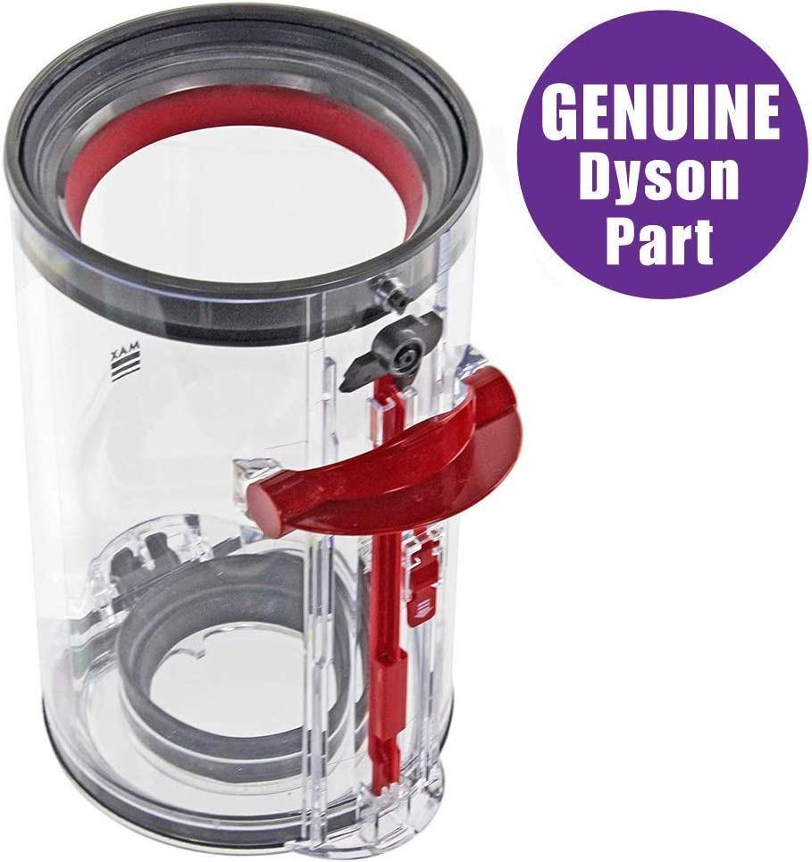 Dyson Small BIN for V10 Units, Part NO. 969509-02, Designed for use with V10 Motor-Head Cordless Stick vacuums
