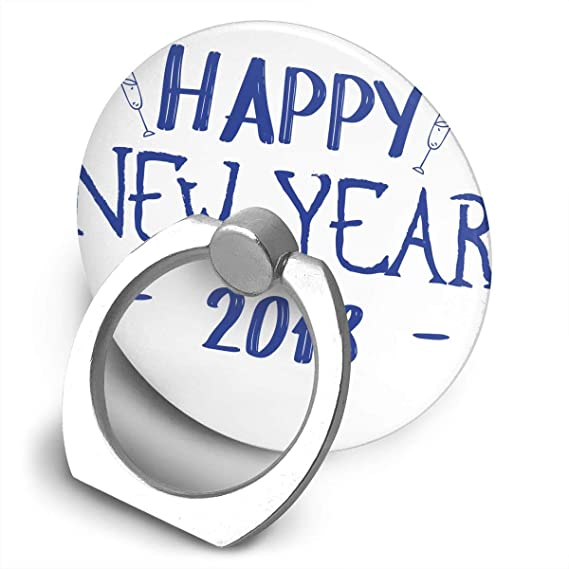 Amazon Universal Phone Ring Bracket Holder Happy New Year 2