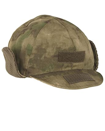 066b0e04e82ac Amazon.com  Miltec Mil-Tec Woodland Camo Gen. II Winter Cap  Clothing