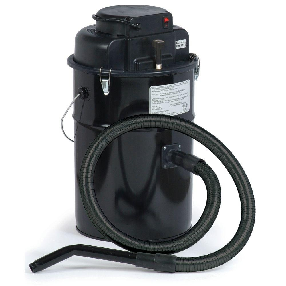 Cougar Ash Vacuum, Black, Made in USA by Dustless Technologies