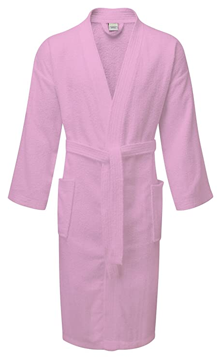 934f96d715 100% Egyptian Cotton Bath Robes Dressing Gowns Uni-Sex One Size Terry  Towelling Luxury