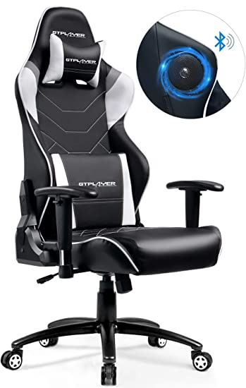 Schreibtischstuhl Sports Gaming Racing Gtplayer Multi Funktion Lautsprecher Audio Musik Mit E Stuhl Ergonomisches Design Bürostuhl Bluetooth nkwO0P