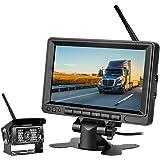OBEST 2系統の映像入力 12V車用 ミニオンダッシュ液晶モニター 4.3インチ バック切替可能