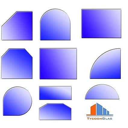 Cristal Placa de base para estufas diferentes formas y fortalecer