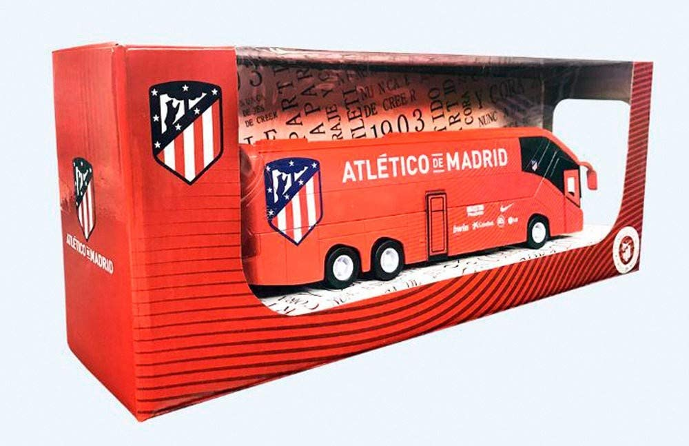 Eleven Force Atlético Madrid Autobús réplica Real 20 Cm, Color Rojo, Ninguna (63652): Amazon.es: Juguetes y juegos