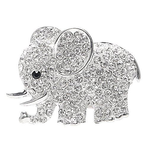iTimo Air Freshener Fragrance Car Perfume Diamond Crystal Auto Decoration Car-styling Elephant Air Outlet Clip