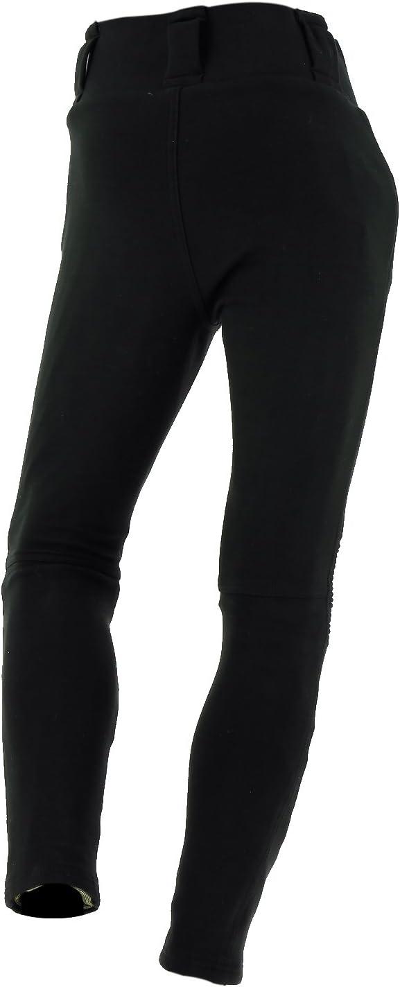 Richa Pantalon Moto Femme Kodi Leggings Noir:
