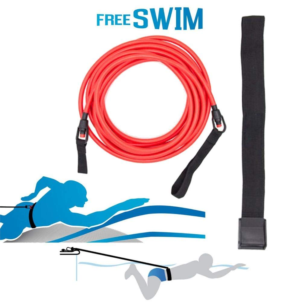 Rundaotong-US -Elastic Traction Belt Professional Swimming Training Speed Trainer Silicone Puller Water Traction Rope for Swimmer- by Rundaotong-US (Image #4)