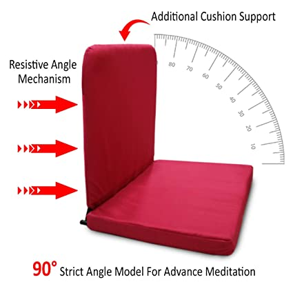 Kawachi Right Angle Back Support Portable Relaxing Folding