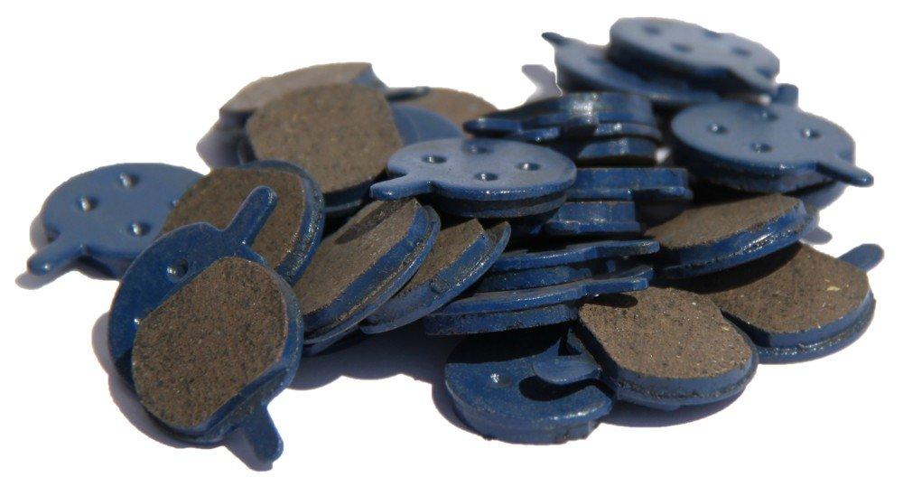 Plaquette rond (2 pièces)-jak 5 pièce de rechange pour trottinette sXT électrique des plaquettes de freins