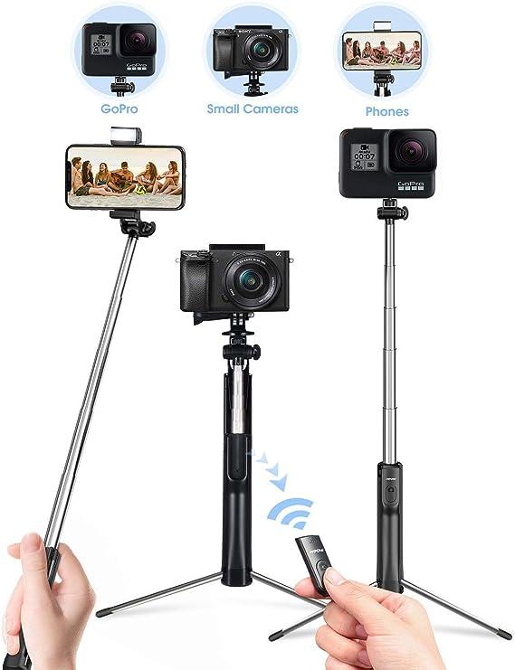 Mpow Selfie Stick Tripod, All in 1 Portable