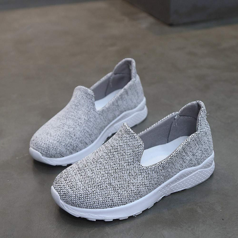 JIN+D Womens Slip on Sneakers Casual Shoes Flats