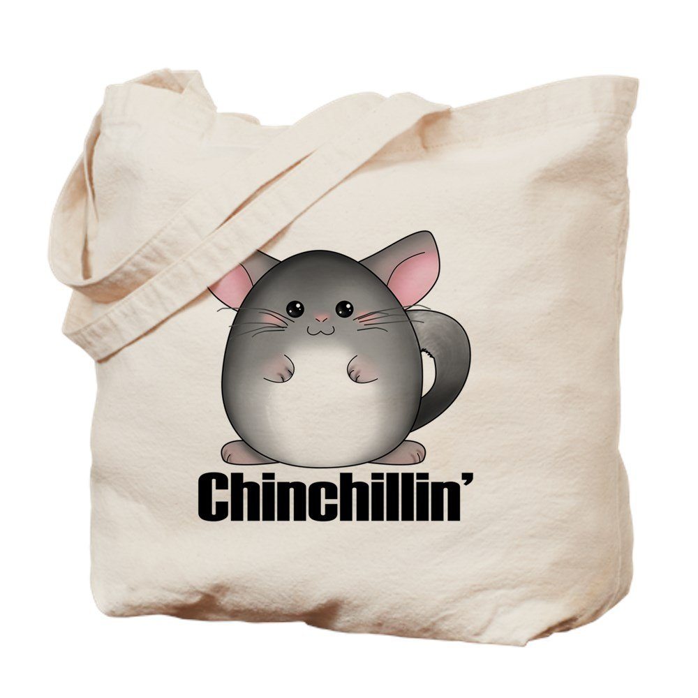 CafePress – Chinchillin – ナチュラルキャンバストートバッグ、布ショッピングバッグ B01LOQZZ4O
