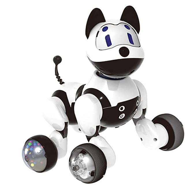 Amazon.com: Baoblaze Electronic Family Pet - Interactive Intelligent Puppy Dog Funny Voice Recognition Robot Toy For Kids: Toys & Games