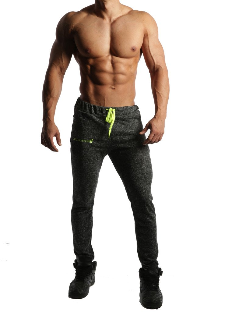 4787237dfd Jed North Men s Joggers Bodybuilding Slim Fit Tight Workout Sweat ...