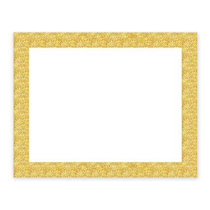 Amazon.com: ArtSkills Glitter Frame Poster Board, Gold, 22\