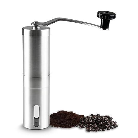 [Lighting Deal Today] 3 Queen Adjustable Ceramic Burr Manual Coffee Grinder  Mill,