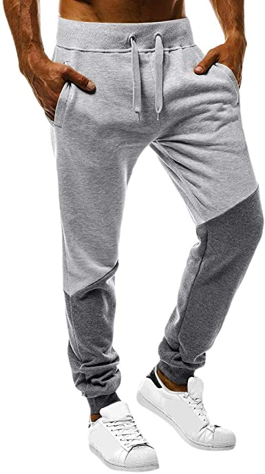 Pantalone tuta uomo felpato slim Harem regular sport nuovo
