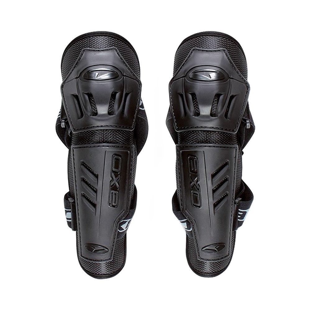AXO Elbow Cups Men's Elbow Guard Off-Road Motorcycle Body Armor - Black / Medium/Large