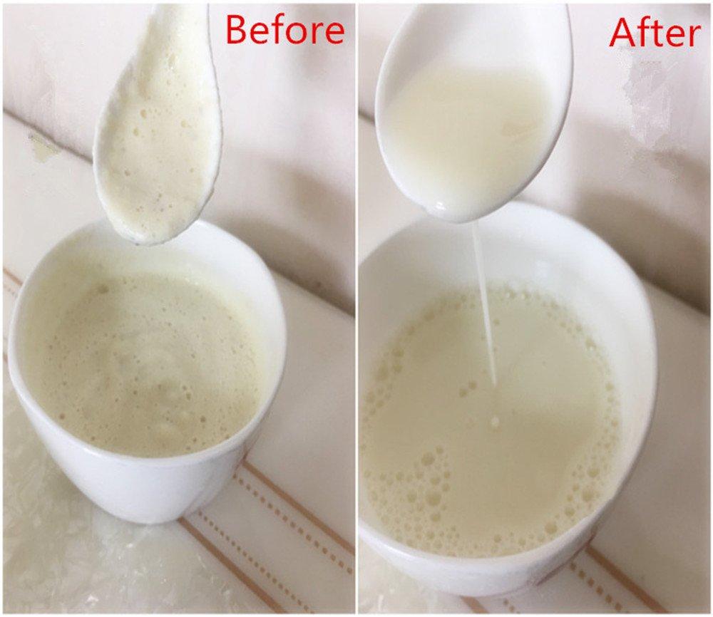 Bolsa de leche de nuez orgánica de algodón - Paquete de 2 jugos de frutas y verduras bolsa de filtro,café,almendra,coco,soja,yogur,tamiz de malla de ...
