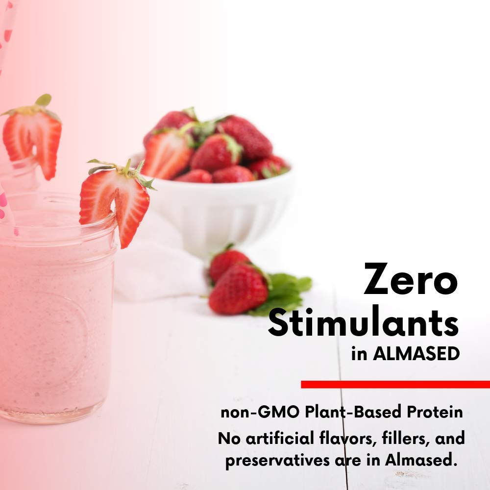 Almased Meal Replacement Shake - Plant Base Protein - Weight Loss Formula - Low-Glycemic High Protein Diet - Metabolism & Energy Booster - 17.6 Oz (6 Pack) by ALMASED