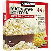 Amazon Lightning Deal 87% claimed: Kirkland Signature Microwave Popcorn 3.3-Ounce 44 Count