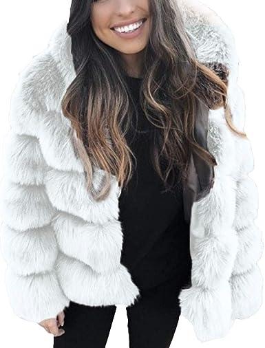 Sonojie Doudoune Chaud Hiver Femme Manteau Chaud Blouson Fermeture /éclair Slim Grande Taille Veste Longue avec Poches Coupe d/écontract/é 2019