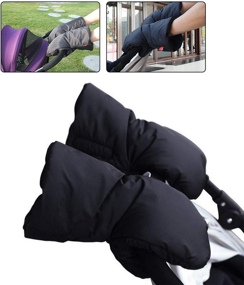 LTSWEET Winter Warm Handw/ärmer f/ür Kinderwagen Universal rutschfest Handschuhe Handmuff Outdoor Wasserfest Winddicht Handschuhe