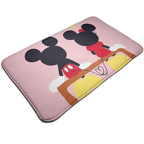 Amazon.com: Alfombra de baño Duwamesva con diseño de Mickey ...