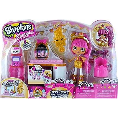 Shopkins Shoppies Lippy Lulu's Beauty Boutique: Toys & Games