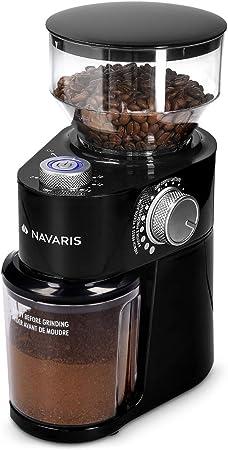 Molinillo grano café 200 W Grinder Molino disco Acero inoxidable Moledor Negro