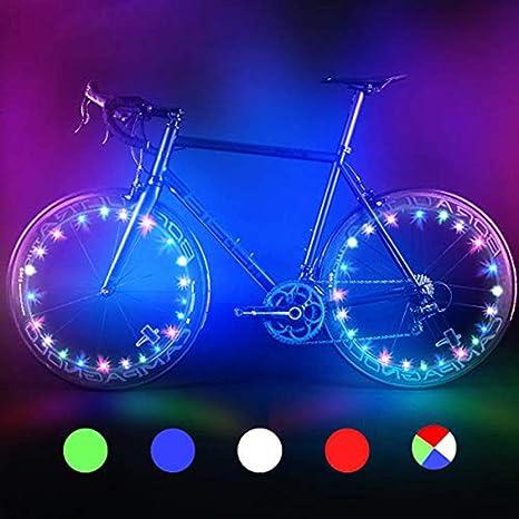 Bodyguard luces para rueda de bicicleta, iluminación automática y ...